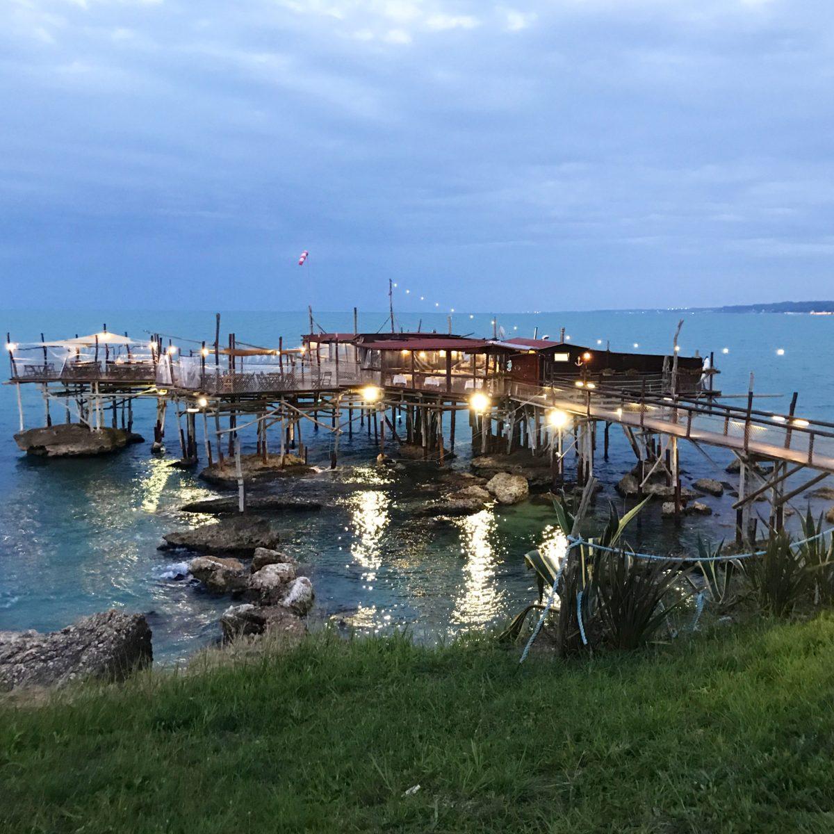 Trabocco Abruzzo chieti costa