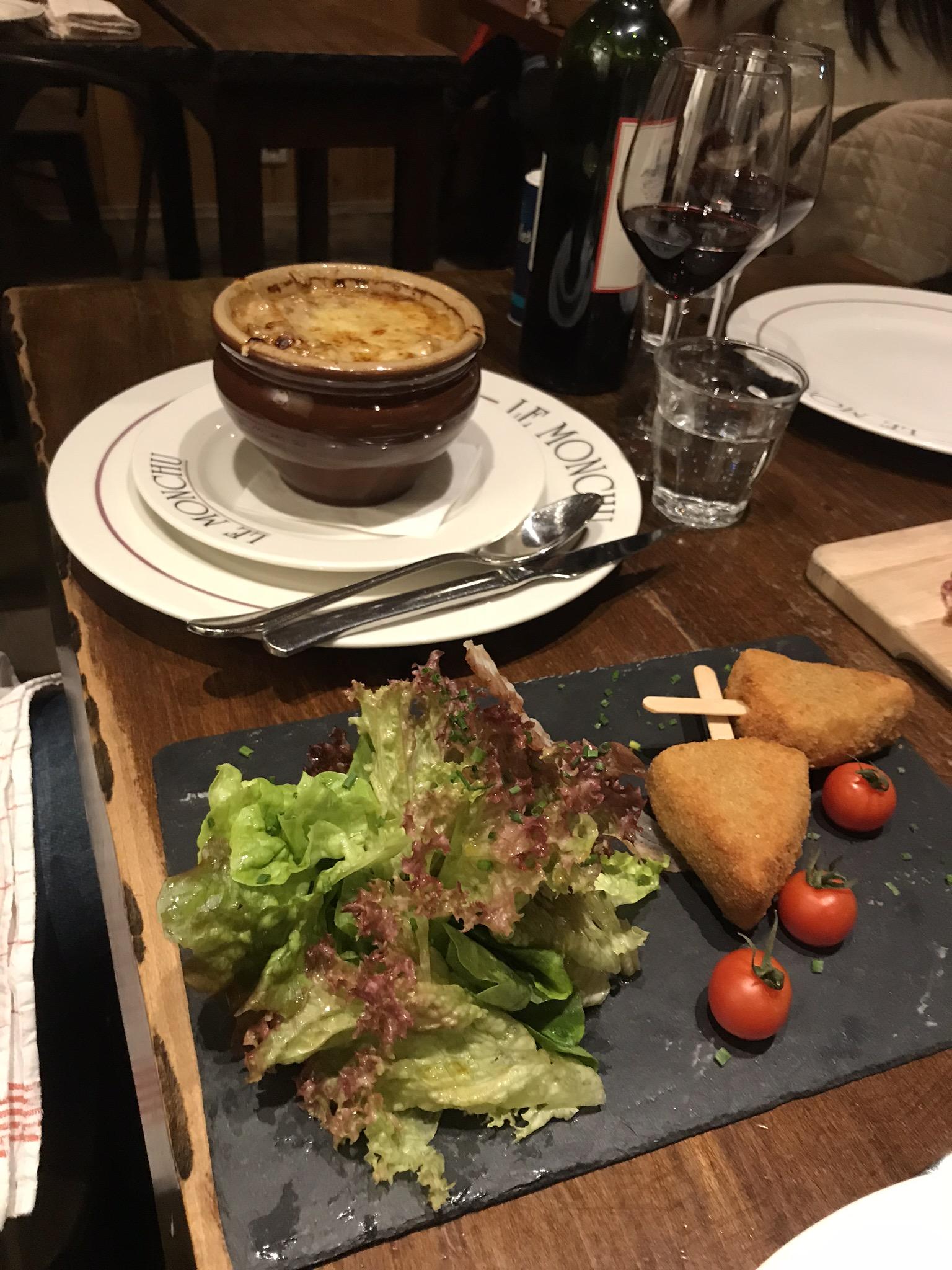 Chamonix ristorante zuppe francia cucina francese